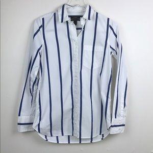 J. Crew   Boy Button Down Shirt in Bold Stripe 2